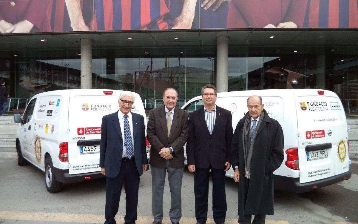 El projecte de repartiment d'aliments ALPAN es consolida a Barcelona