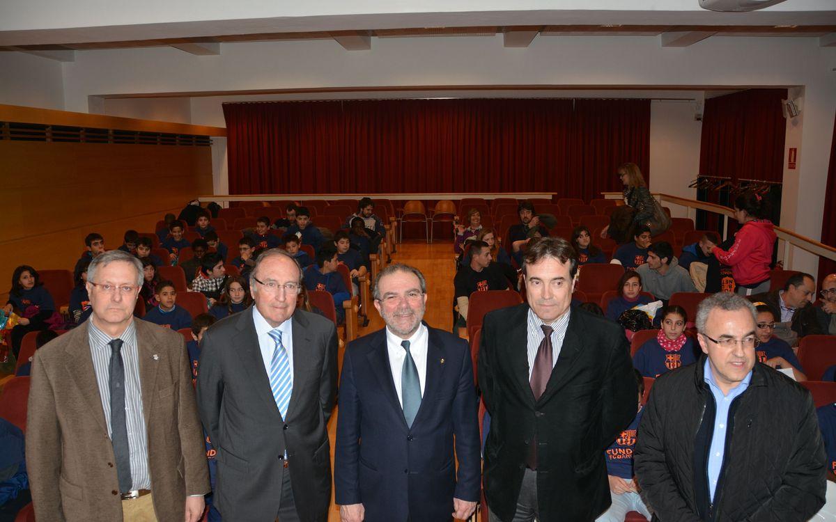 Presentació del nou curs de 'FutbolNet' a Lleida