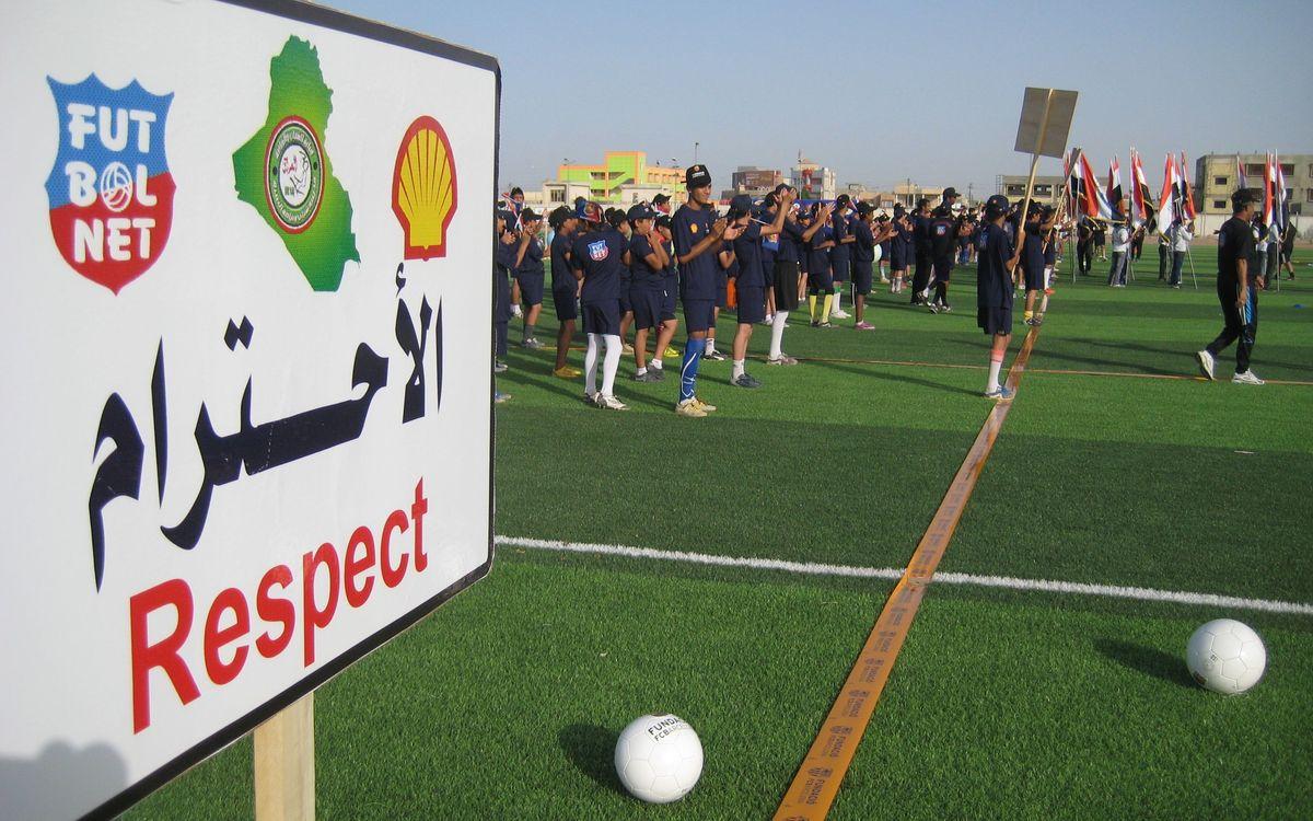 Cancel·lat el 'Festival FutbolNet' a l'Iraq