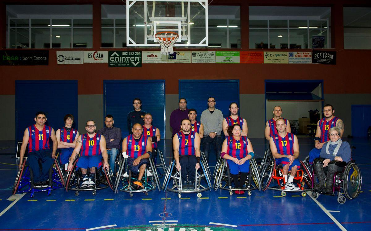 El Barça Regal Unes impone sus credenciales (46-59)