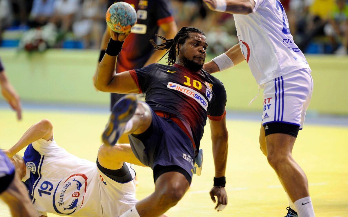 Barça Intersport i Fuchse Berlín: l'espectacle de l'handbol europeu al Palau