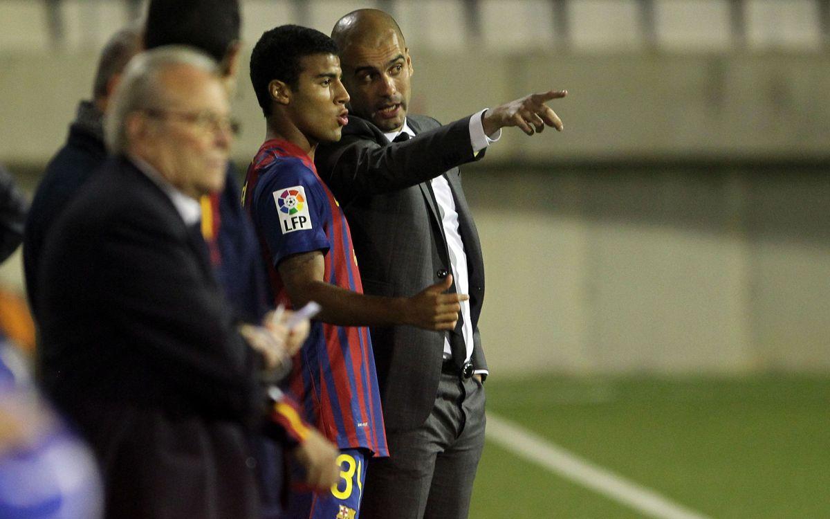 Rafinha y Tello, los últimos de la cantera en debutar con el primer equipo del Barça