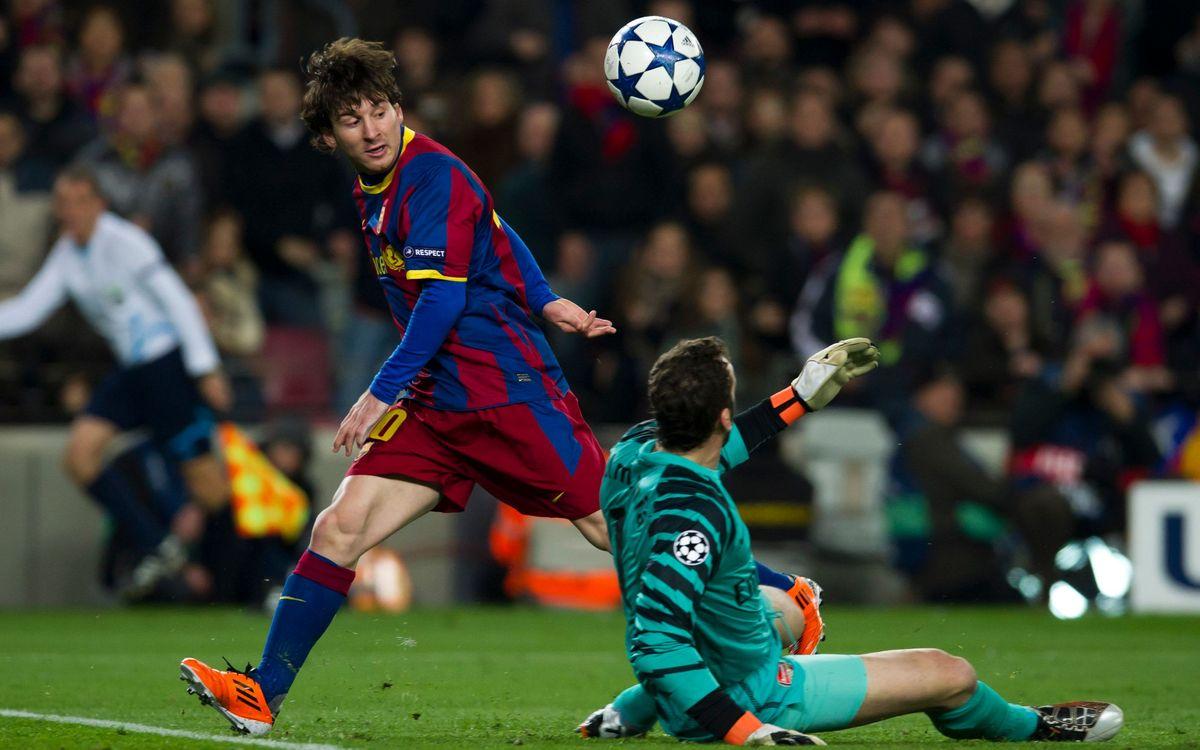 Messi vuelve a optar al premio Puskas