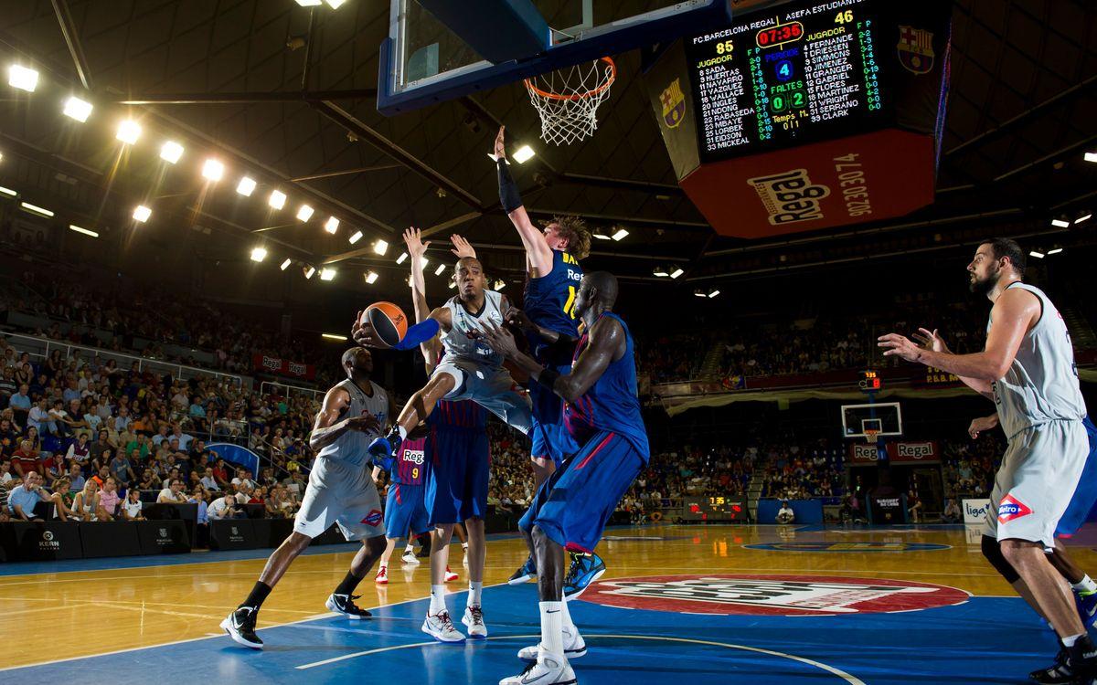 El mejor baloncesto del Palau Blaugrana, con el abono MVP12