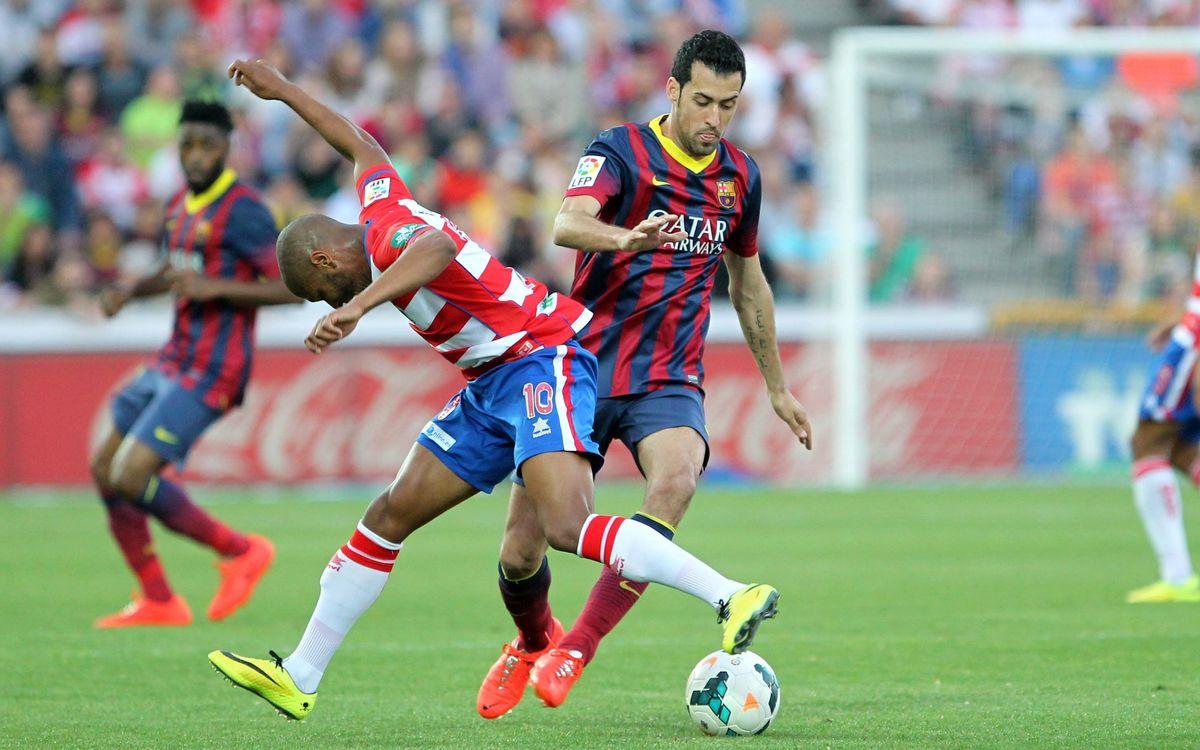 Granada CF - FC Barcelona: No quiere entrar (1-0)