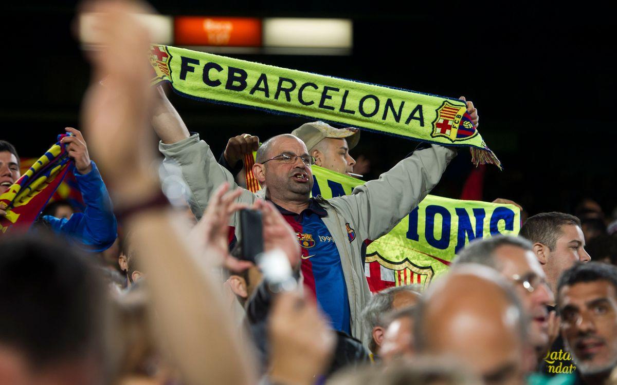Benfica-Barça: Entrades per a tots els sol·licitants