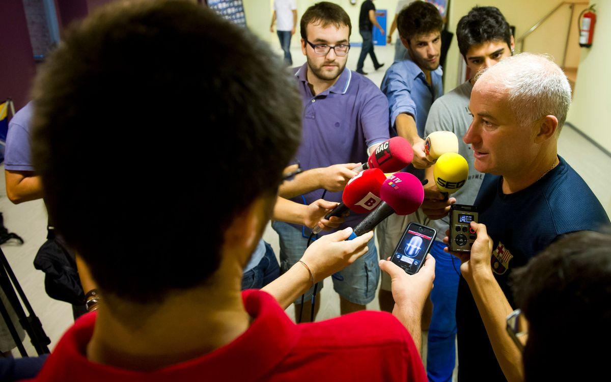 Marc Carmona i Jordi Torras confien a poder tornar a Barcelona amb la Supercopa