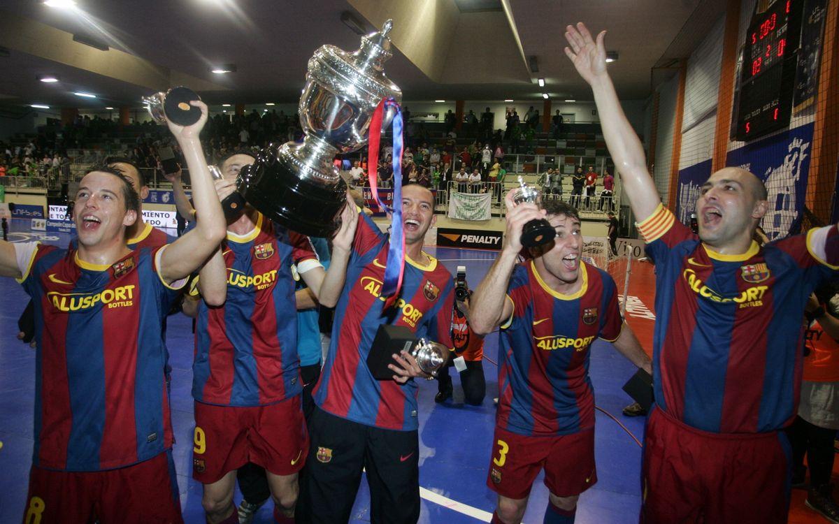 El sorteo de la Copa del Rey empareja al Barça Alusport con el AE Centelles