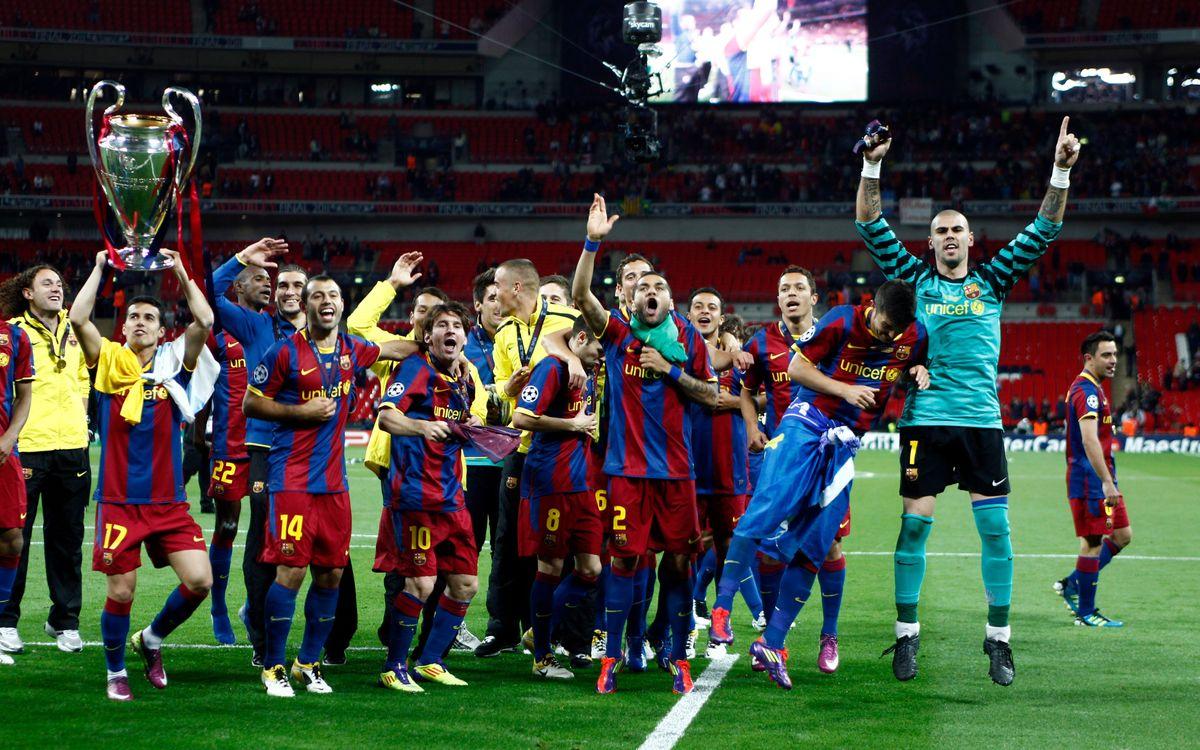 Siete azulgranas vuelven al escenario de la cuarta Champions