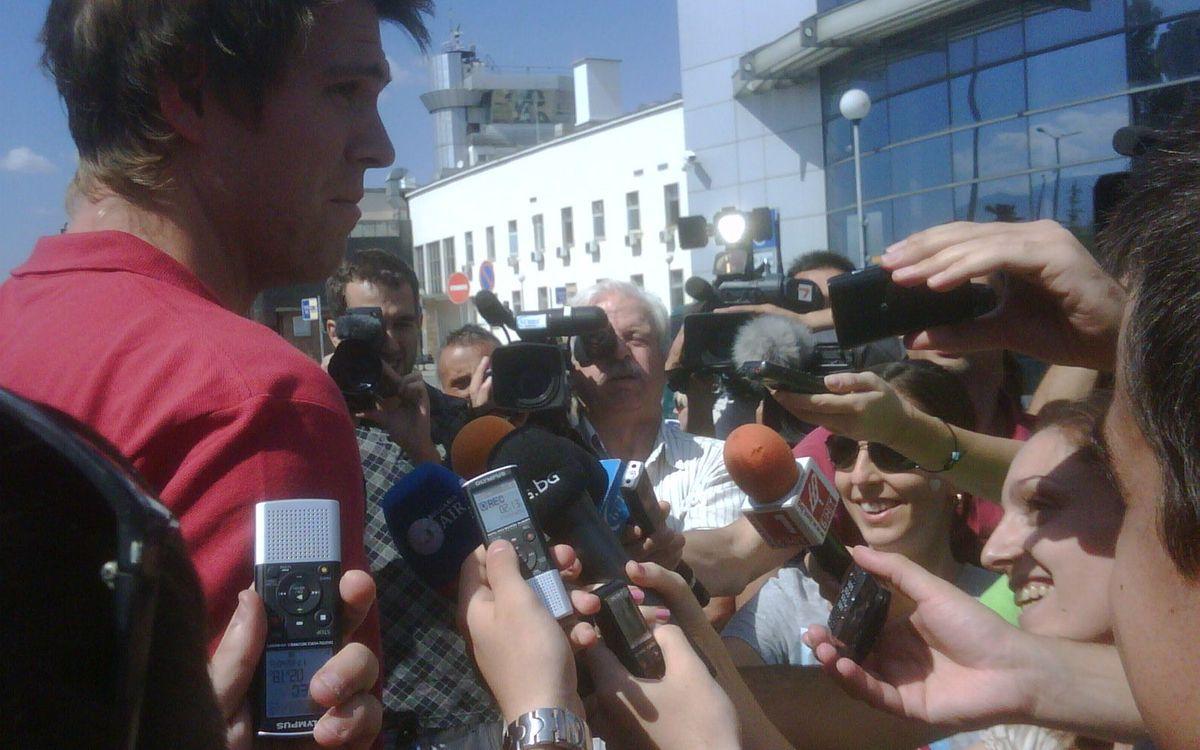 El Barça Regal ja és a Bulgària