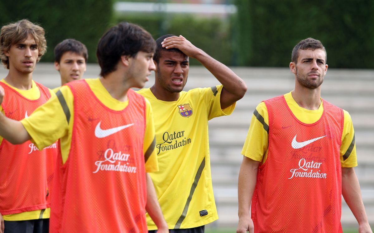 Barça B: 18 jugadores viajan a Murcia