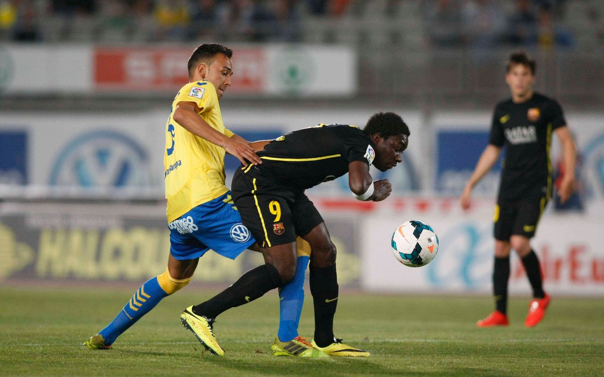 Las Palmas - Barça B: Se amplía la racha de victorias (0-2)