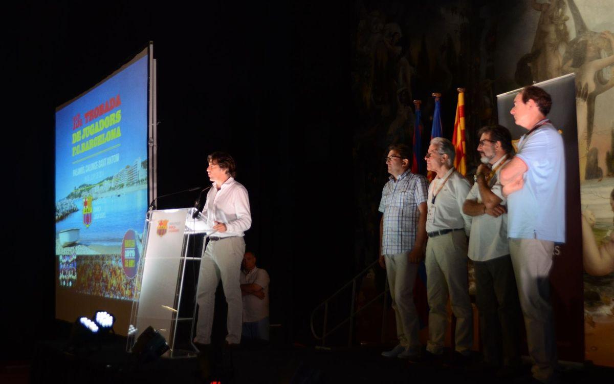 El 13º Encuentro de Jugadores Barça celebra los 35 años de la Recopa de Europa