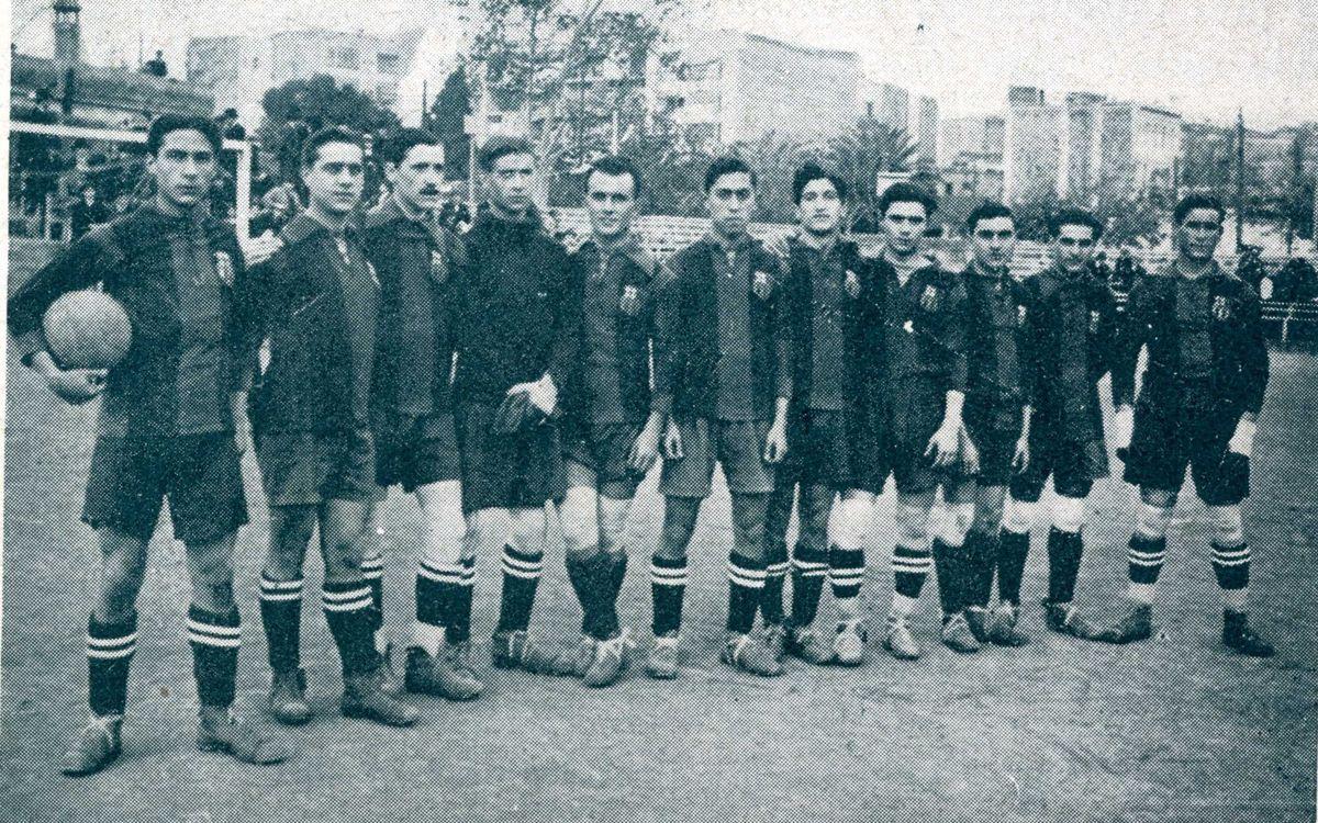 El fútbol del Barça ya maravillaba... ¡hace cien años!