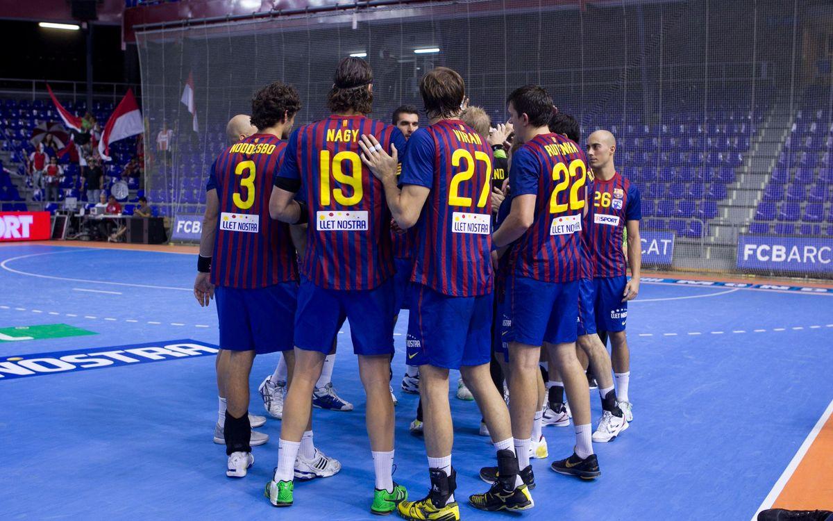 Barça Intersport jugará en Vigo ante Academia Octavio, ex equipo de Xavi Pascual, y de allí viajará directamente a Bosnia