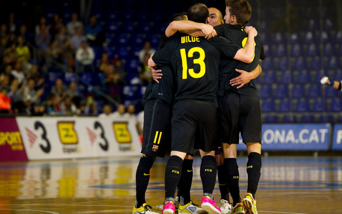 El FC Barcelona Alusport debutarà a l'Elite Round davant l'MNK Split