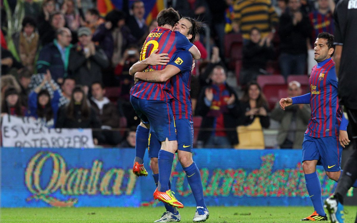 30 Goles a favor y 0 en contra en el Camp Nou en Liga
