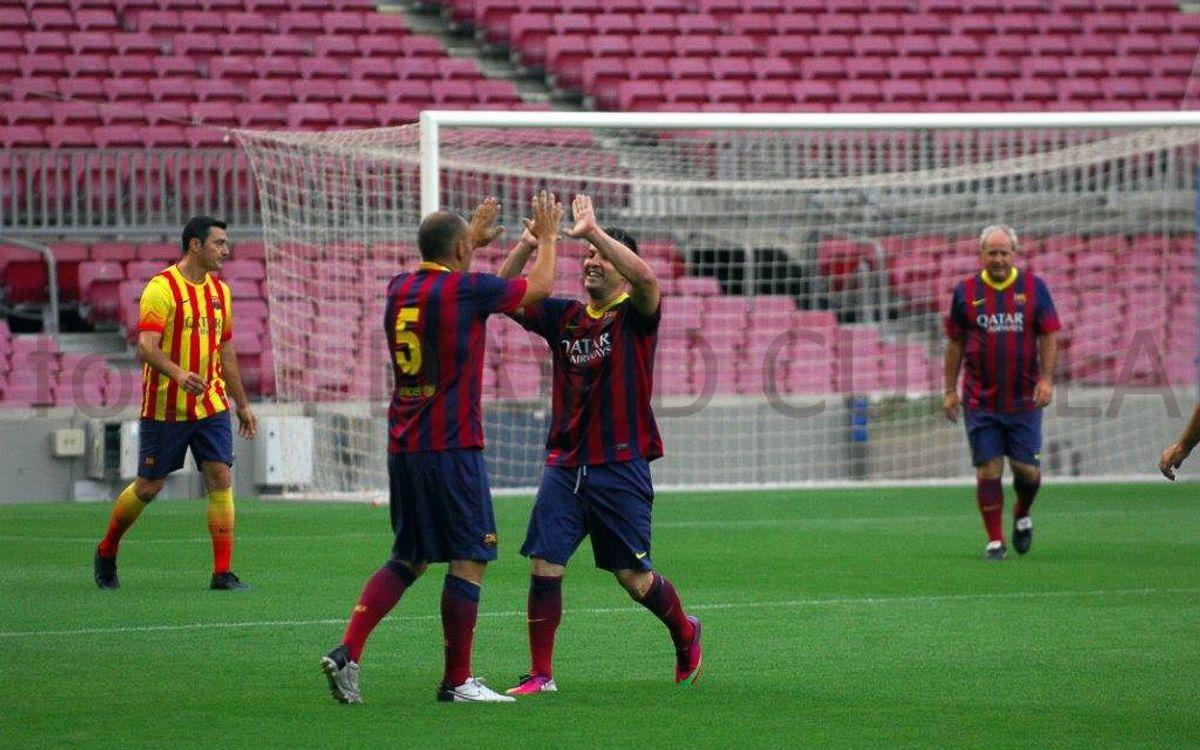 El Camp Nou acull el final de temporada de l'Agrupació