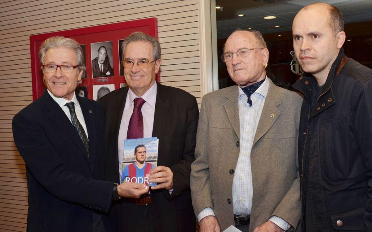Rodri: una vida al Barça, ara en un llibre