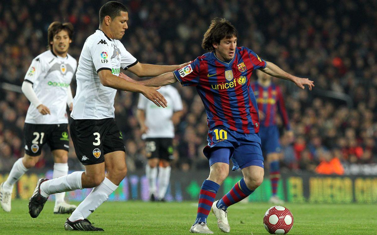 Messi, malson contra el València
