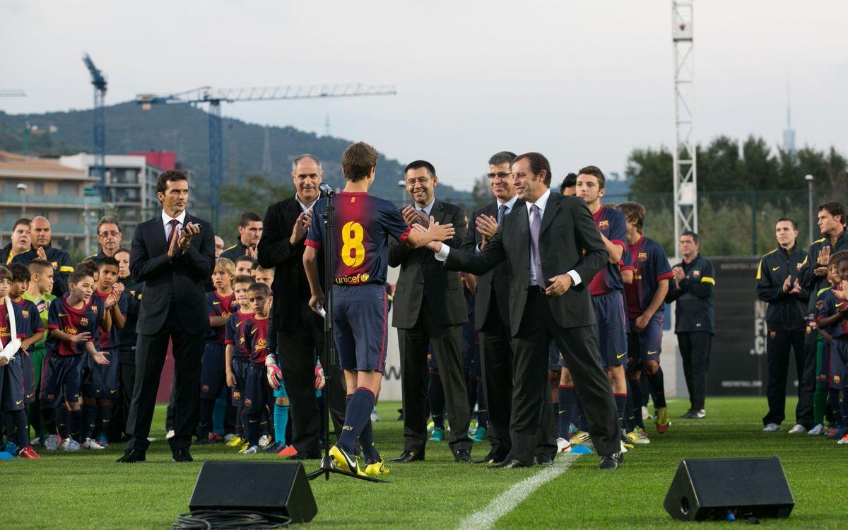 Presentació de les categories inferiors del FC Barcelona