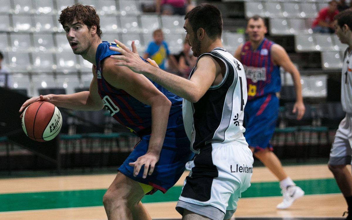 FCB Regal – Força Lleida: Triomf solvent i a la final (80-60)