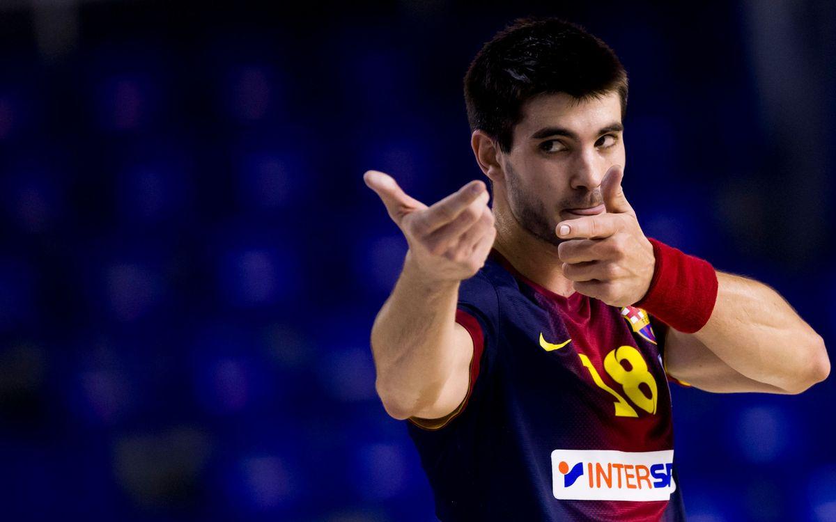 Tercera victòria per al Barça Intersport (36-21)