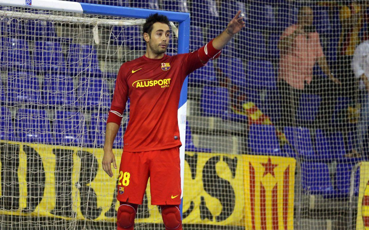 El Barça Alusport visita l'Azkar Lugo abans de marxar a Eslovènia