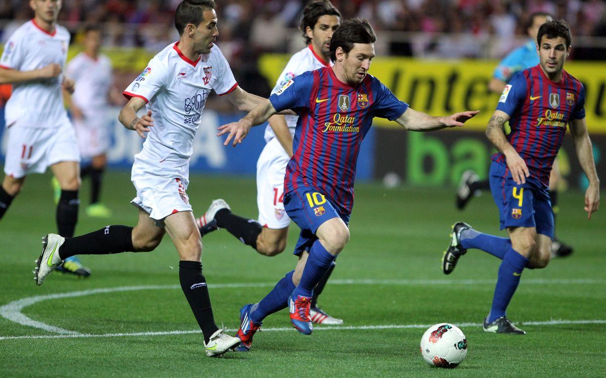 Sevilla-Barça, dissabte 29 a les 22 hores