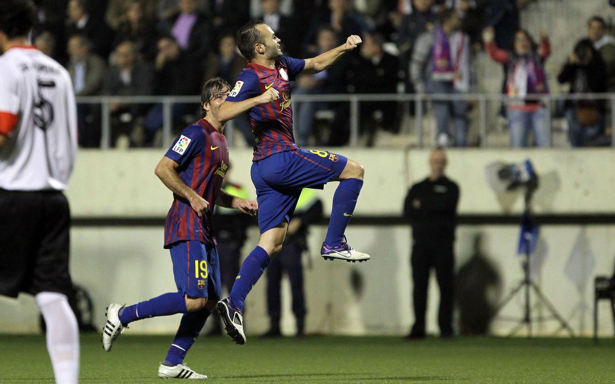 L'Hospitalet: FC Barcelona: Una vez más, ejemplares (0-1)