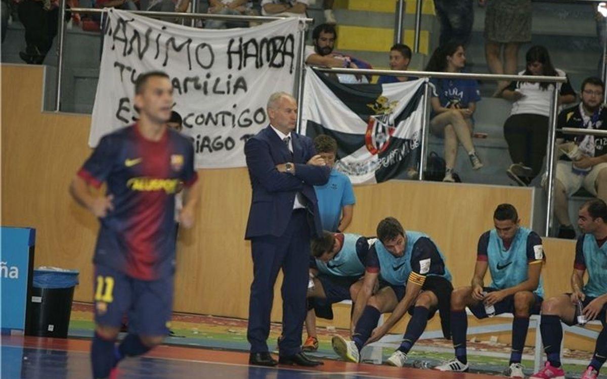 Marc Carmona fa autocrítica després de la derrota davant ElPozo