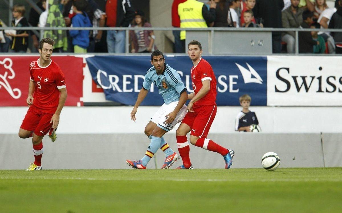 Espanya sub-21, amb sis culers, suma el punt que volia (0-0)