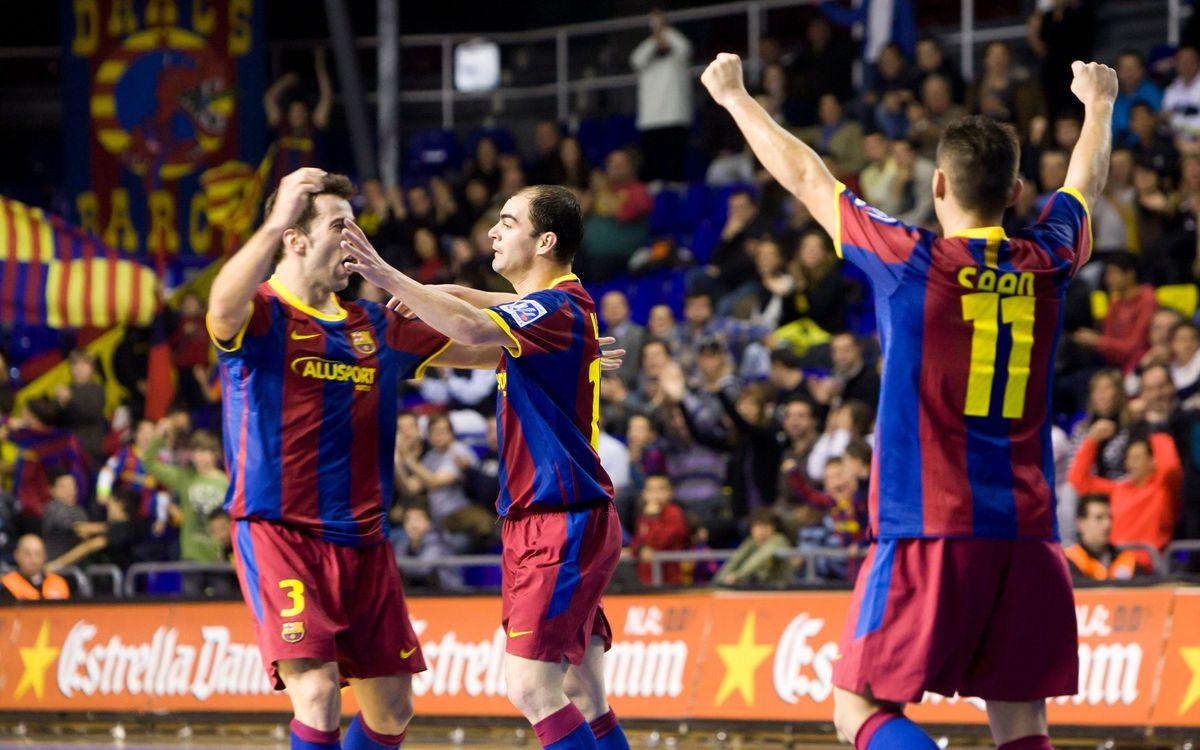 Los azulgranas inician hoy su camino en la ronda Elite de UEFA Futsal Cup