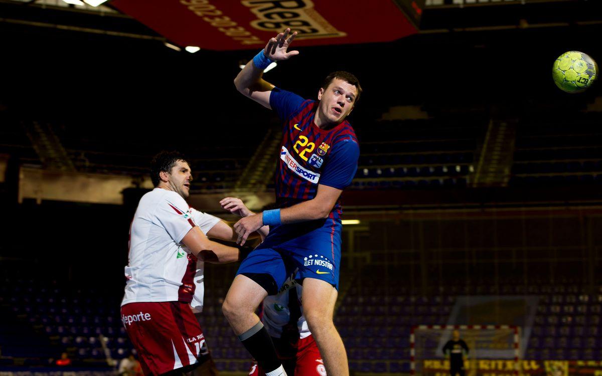 El Barça Intersport comença la competició oficial