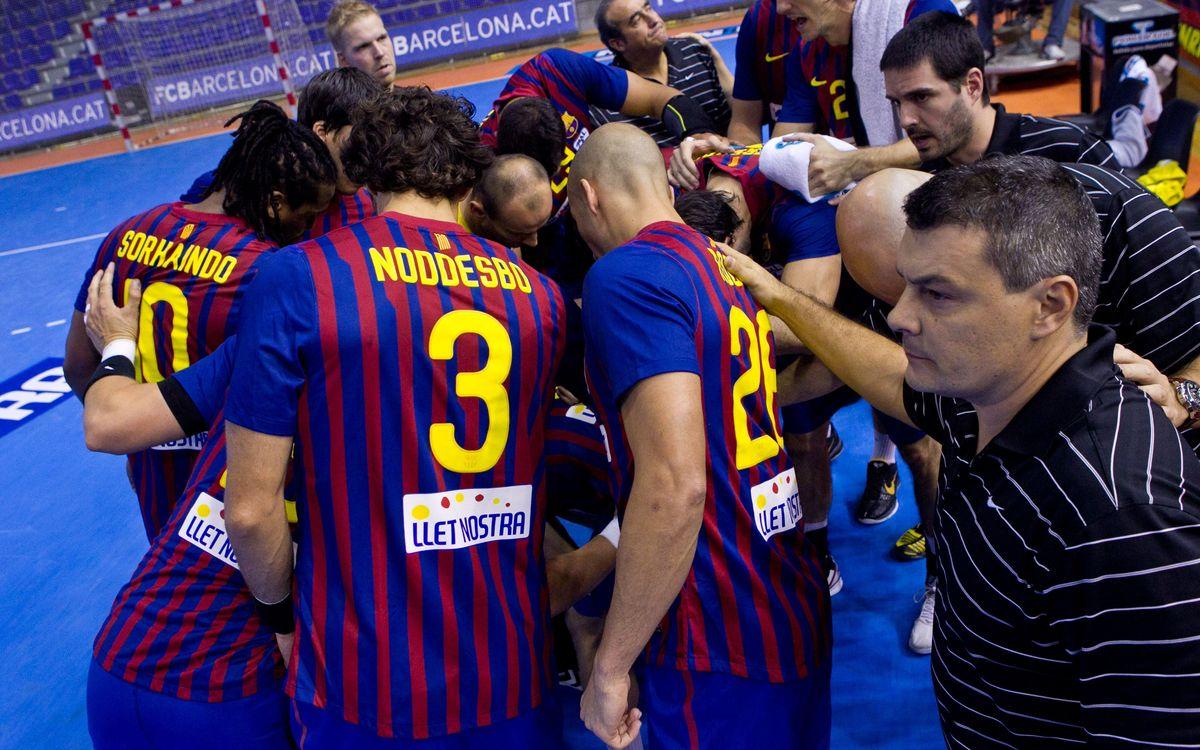 El Barça Intersport se enfrenta al Antequera tras el parón