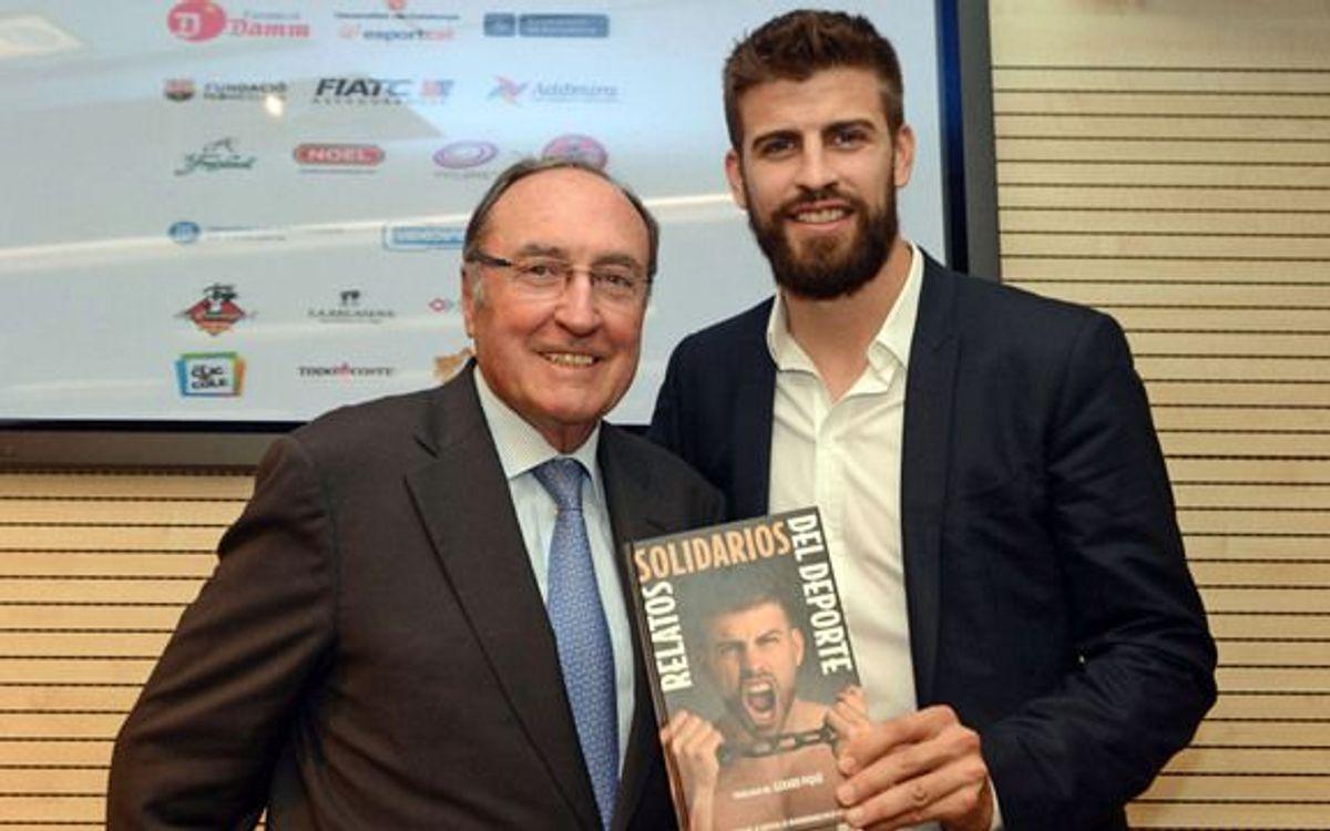 La Fundació del FCB col·labora amb el projecte 'Relats solidaris de l'esport'