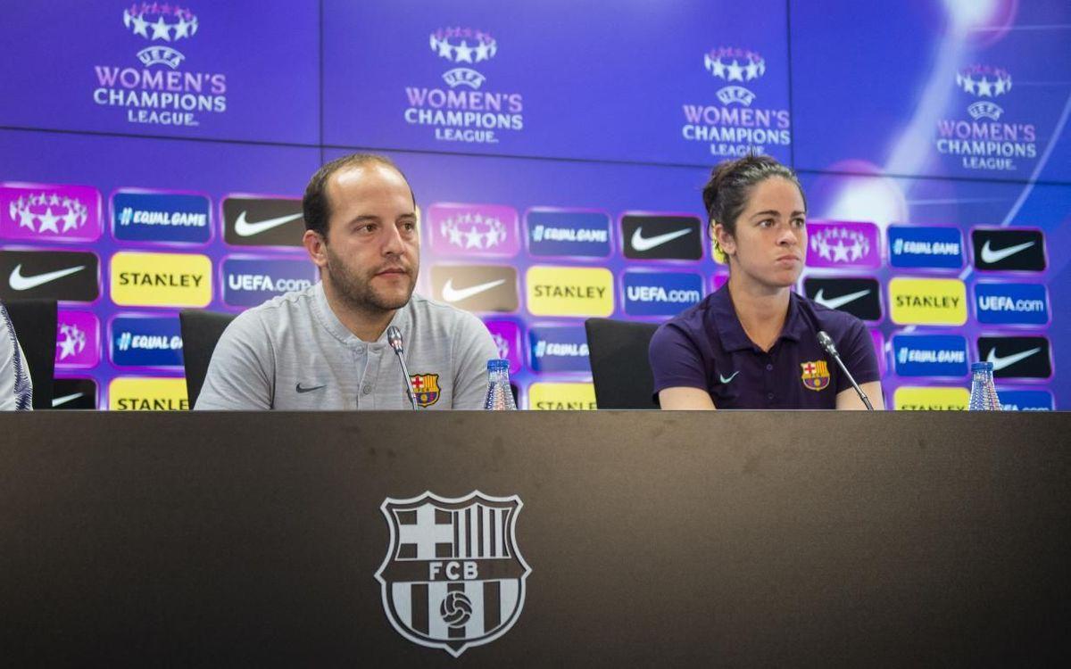 """Lluís Cortés: """"Afrontem el partit amb naturalitat i intentarem fer el nostre joc"""""""