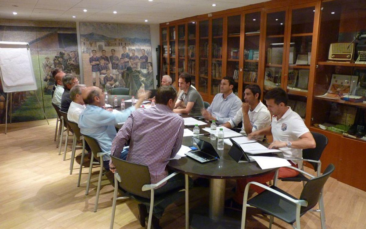 El Consell d'Assessors de l'AFE es reuneix a l'Agrupació