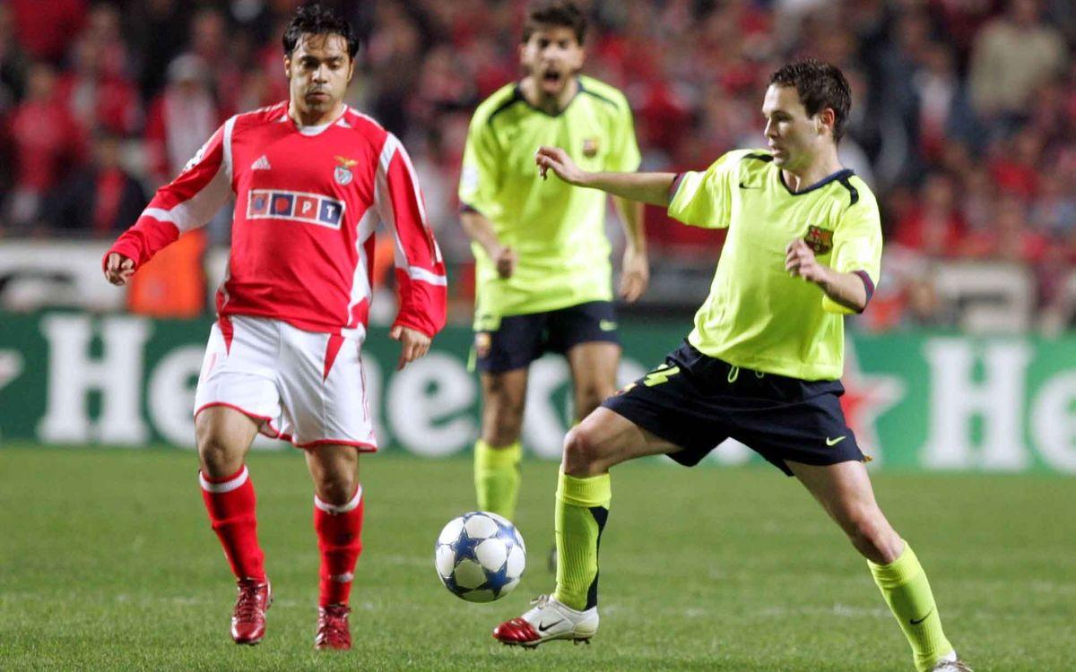 Benfica-FC Barcelona. Sabies que...
