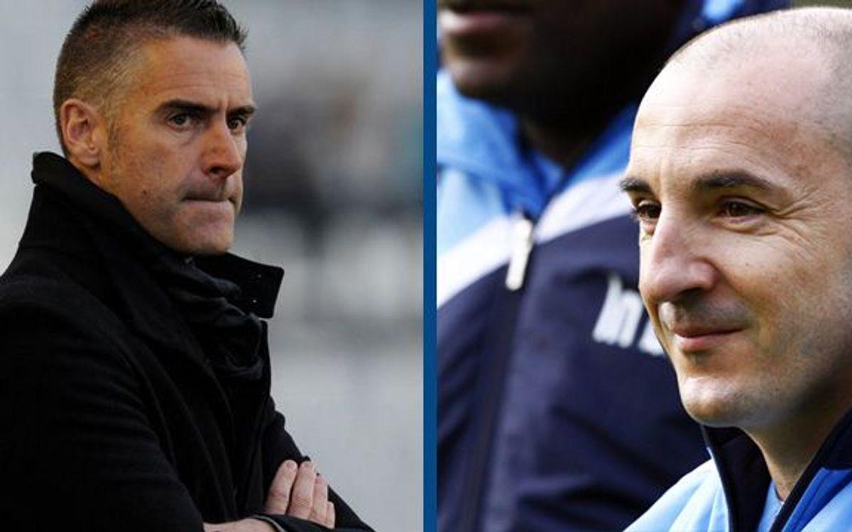 Lluís Carreras i Chapi Ferrer, entrenadors del Mallorca i el Còrdova