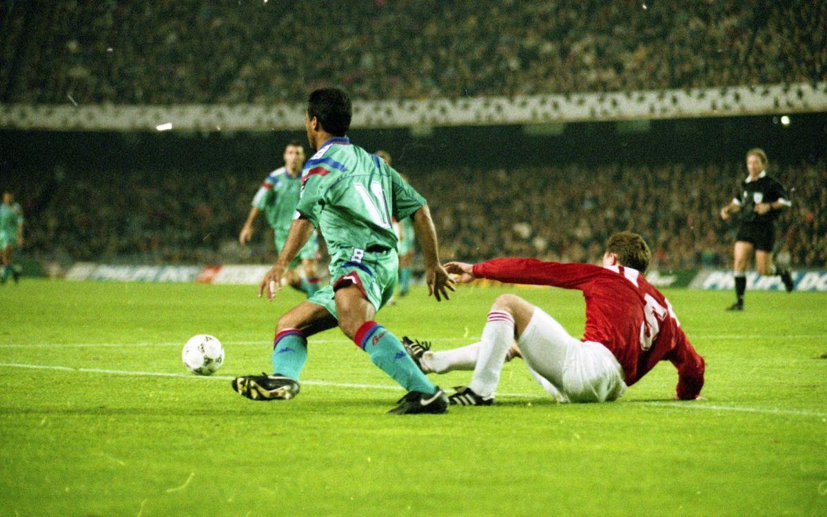 Recordes qui va marcar fa 18 anys contra l'Spartak al Camp Nou?