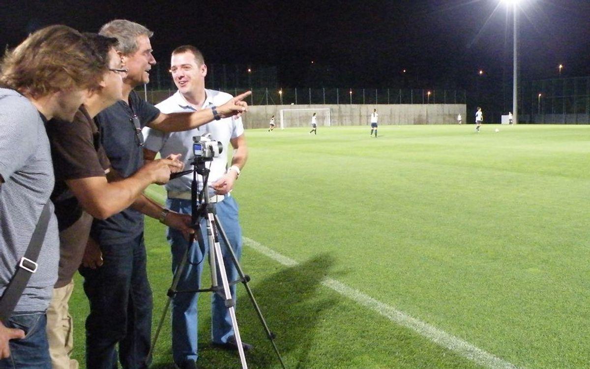 El curs d'ús del vídeo a l'esport acaba amb pràctiques a la Ciutat Esportiva