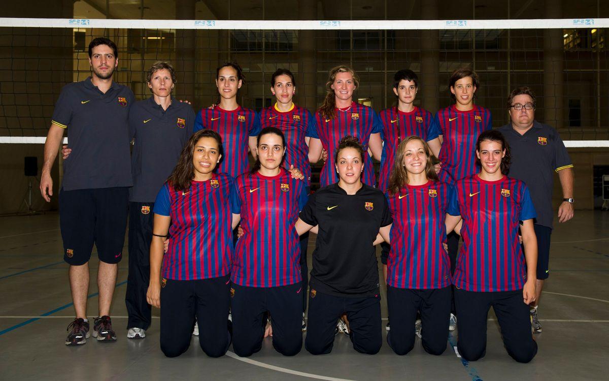 El CVB Barça cede en cinco sets contra el Vall d'Hebrón (3-2)