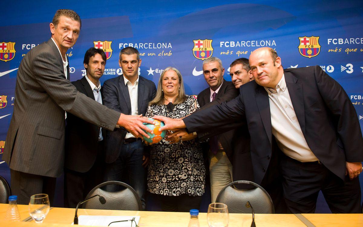 'Barcelona Ciutat HandboliCat', en marxa