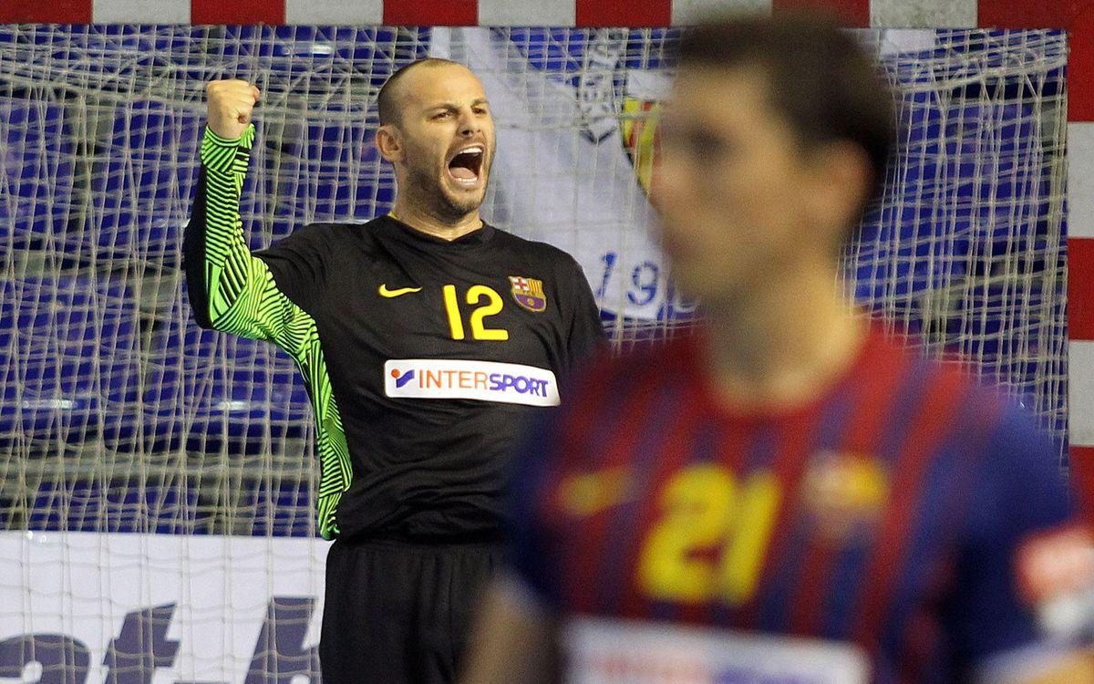 El Barça Intersport s'estrena en un partit plàcid davant el Bordils (23-43)