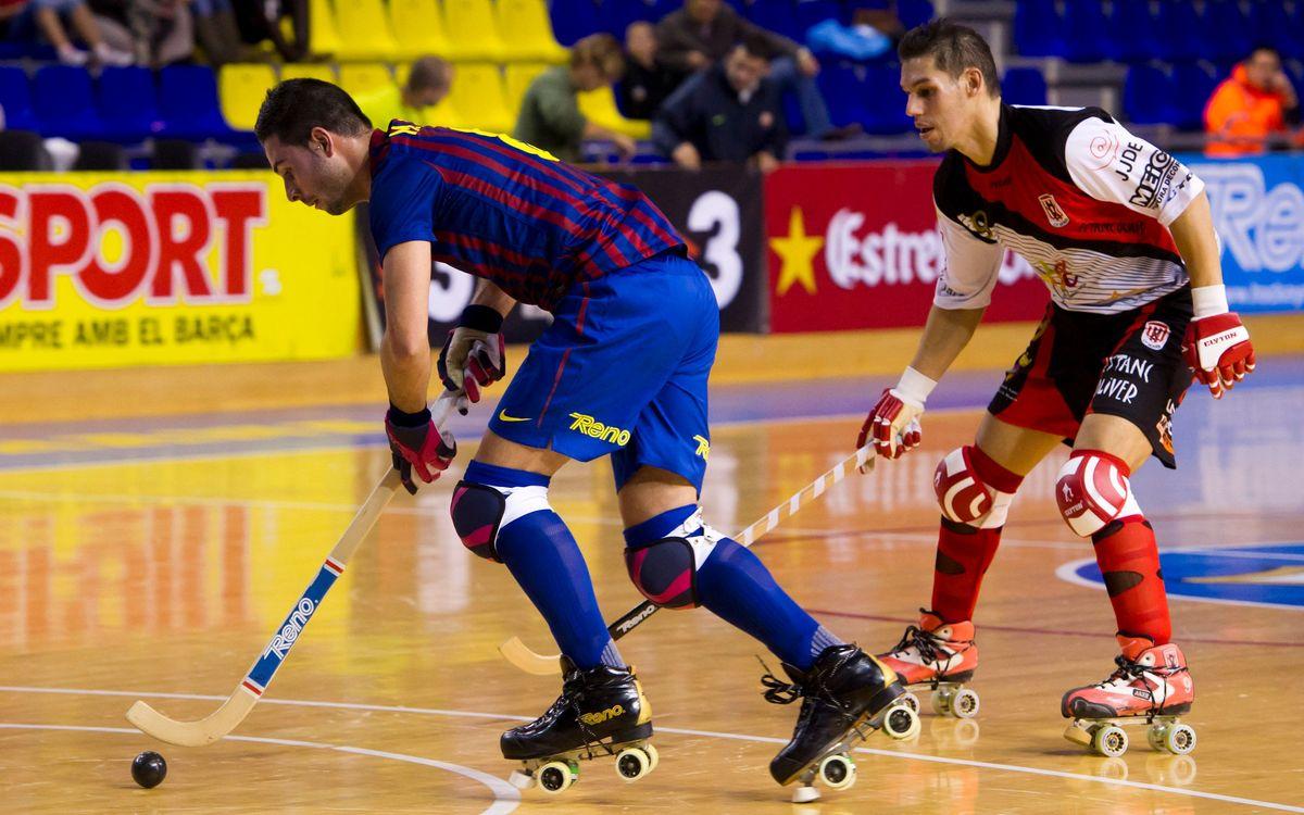 Empate entre Barça y Viareggio (3-3)
