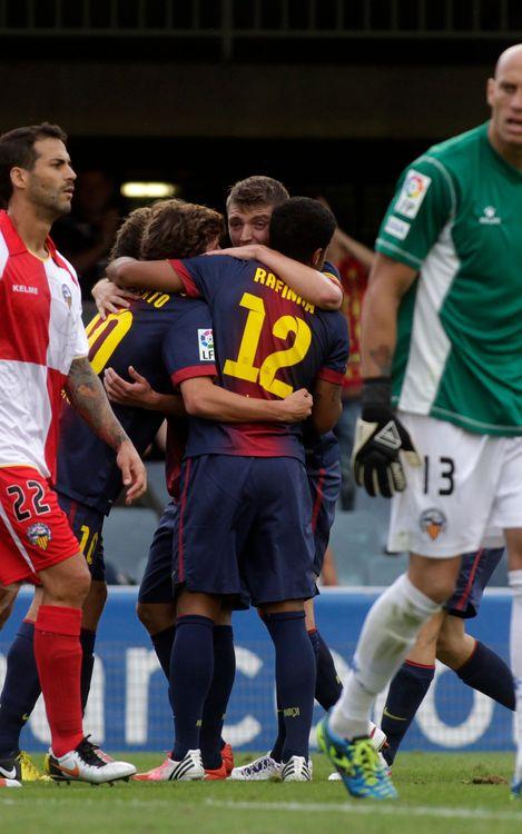 El Barça B, segon màxim golejador de Segona A