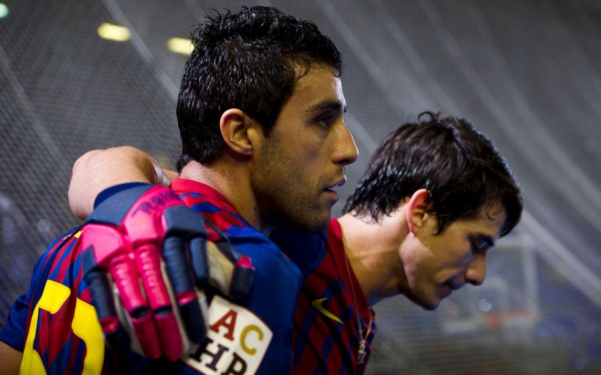 El Barça de Gaby Cairo supera un valiente Alcoy (7-3)