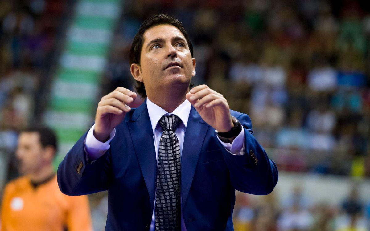 """Xavi Pascual: """"Som un equip nou que ha de créixer"""""""