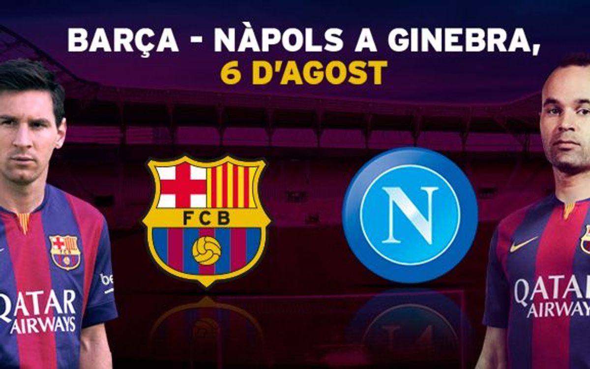 Barça – Nàpols a Ginebra